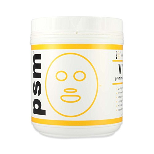 psm VITAMIN Premium Algae Peel Off Facial Mask Powder for Professional Skin Care 17.6 OZ (1.1LB / 500g)