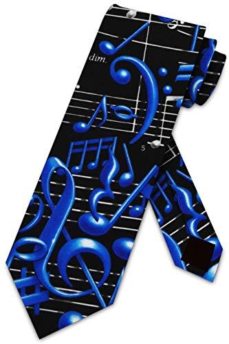 Music Themed Black Tie