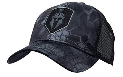 Kryptek Battlefield Logo Tactical Camo Neptune Cap Mesh Back Hunting Hat