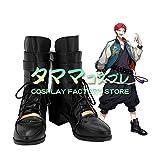波羅夷空却 ヒプマイ ヒプノシスマイク Division Rap Battle はらいくうこう Evil Monk イーブルモンク コスプレ靴 コスプレブーツ cosplay オーダーサイズ/スタイル 製作可能 【タママ】(23.5cm)