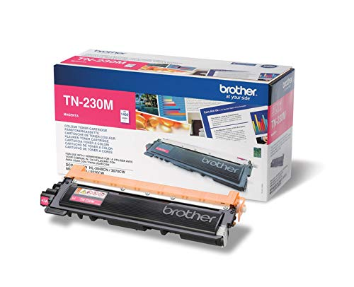 Brother Original Tonerkassette TN-230M magenta (für Brother DCP-9010CN, MFC-9120CN, HL-3040CN, HL-3070CW, MFC-9320CW)