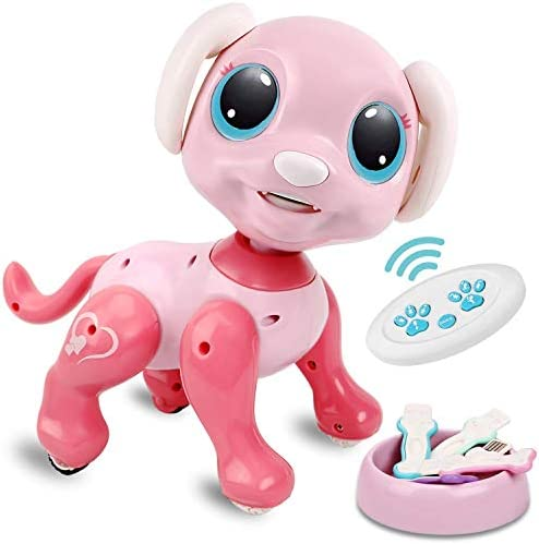 RACPNEL Remote Control Robot Dog Toy RC Interactive Intelligent Walking Dancing Programmable product image