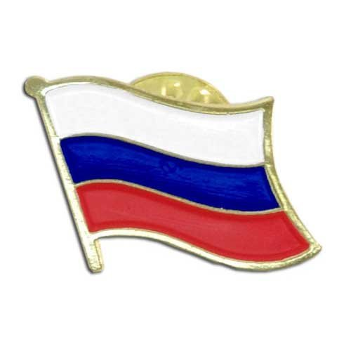 US Flag Store Russian Federation Lapel Pin