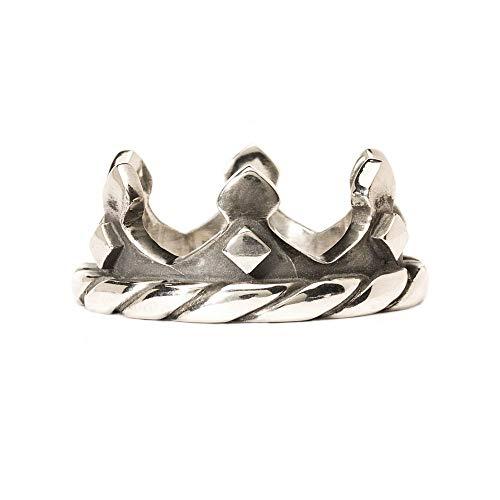 Trollbeads Silber Ring Krone, Gr. 52