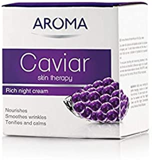 Caviar Skin Therapy Night Cream Firms and nourishes. Smoothes wrinkles. Tonifies ann calms. Parabens Free