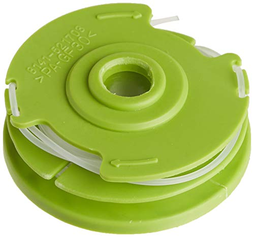 """Earthwise RS90111 .065"""" String Trimmer Models ST00011, ST00013, ST00015, ST00113 & ST00115 Line Spool Replacement, 0.065 Inch, Green"""