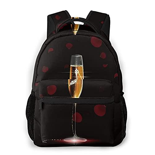 Alvaradod Zaino da viaggio per laptop,Donna Tacchi alti Black Diamond Wine,Business Water Resistant Antifurto Daypack Slim Durevole