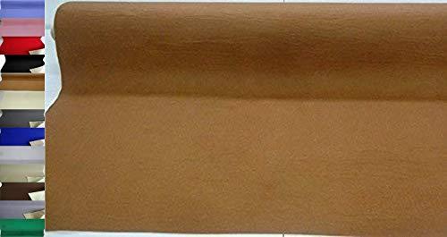 StoffBook EDEL BASTELFILZ FILZSTOFF SELBSTKLEBEND 100CM BREIT STOFF STOFFE, C348 (CAMEL)