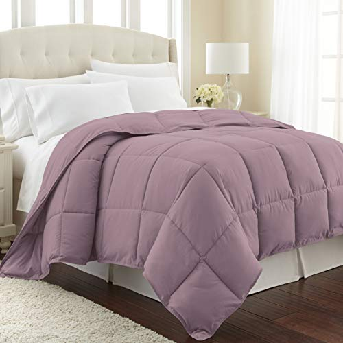 Vilano Springs Premium Quality Over-Sized All-Season Down-Alternative Comforter, Lavender, Twin / Twin XL