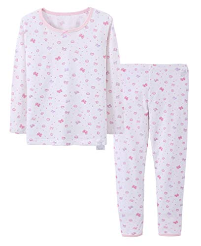 Niñas Pijamas Edades 5 a 12 años Blanco Arco Blanco