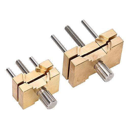 SALUTUYA Uhrenwerkzeug Uhrenreparaturwerkzeug aus Kupfermaterial für Hobbys zur Schmuckherstellung für Uhrenreparaturarbeiter für die meisten Uhren