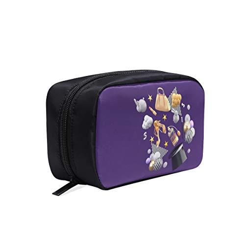 Reisetaschen Für Frauen Ein Plattenspieler In Einem Bunten Ball Fashion Bag Pack Für Frauen Zahnbürste Reisetasche Kind Kulturbeutel Kosmetiktaschen Multifunktionskoffer Kulturbeutel Für Frauen