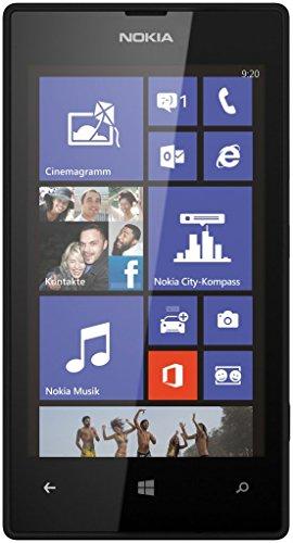 Nokia Lumia 520 Smartphone, Black (Italia), (Ricondizionato)