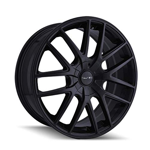 TOUREN TR60 Full Matte Black Wheel with Alloy Steel (20 x 8.5 inches /108 x 108...
