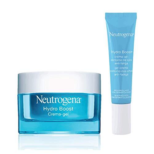 Neutrogena Hydro Boost Crema Gel - 50 ml + Crema Gel Anti-Fatiga Para El Contorno De Ojos - 15 ml
