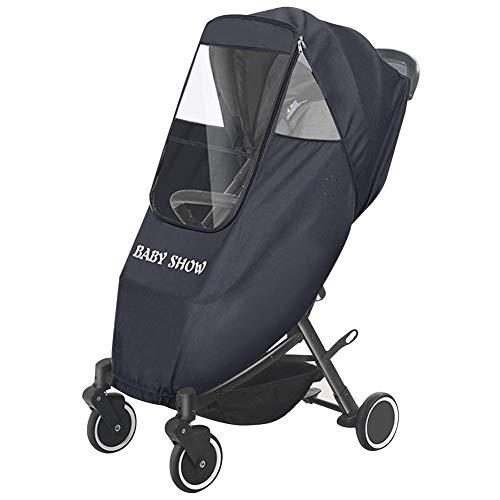 dewdropy - Funda para Cochecito de bebé, Impermeable, Antipolvo, Cortavientos, con Orificios de ventilación