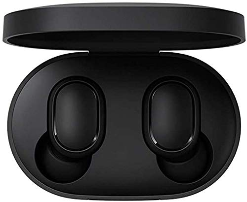 MI Xiaomi Redmi Airdots TWS Auriculares Inalámbricos Bluetooth 5.0 Auriculares con Caja de Carga Sonido Estéreo Verdadero con Micrófono Manos Libres Audífonos In Ear Headset