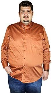 Mode XlKlasik Uzun Kollu Saten Gömlek