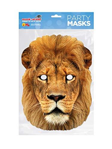 Rubie's-déguisement officiel - Rubie's-Masque - Carton Lion - MLION001