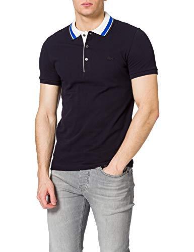 Lacoste PH0047 Camisa de Polo, Abimes/Farine-Lazuli, M para Hombre
