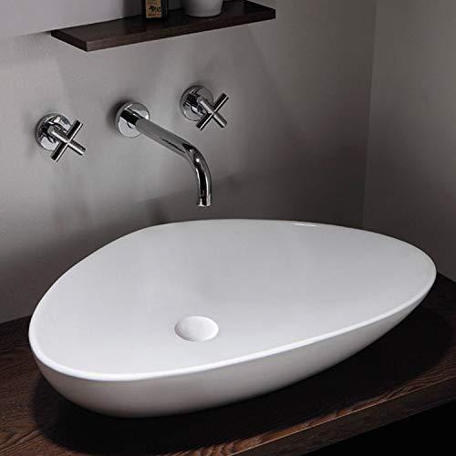 Waschbecken - Waschtisch | Aufsatzwaschbecken · Handwaschbecken · Keramik Waschbecken | Burgtal 17541