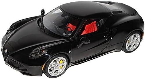 AUTOart Alfa Romeo 4C SchwarzCoupe Ab 2013 70184 1 18 Modell Auto