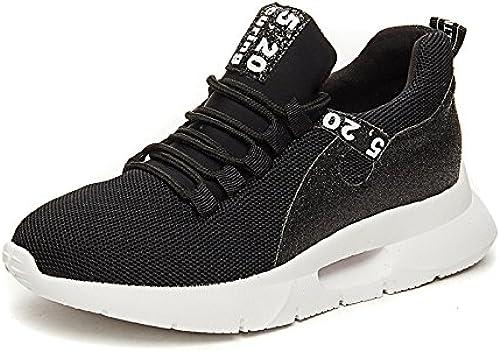 NGRDX&G Chaussures De Sport Tricotées Chaussures Pour Femmes Chaussures De Course Décontractées Chaussures Pour Femmes