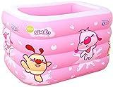 Piscina para bebés Inflable Piscina para niños Gruesa y cálida Piscina Infantil con inflador eléctrico con Bomba de Aire - Varios Estilos y tamaños-C-115x95x75cm Uptodate
