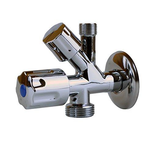 Sanixa JL193438 Geräteventil | Kombi-Eckventil | Anschluss-V entil | Badinstallation | Anschluss Auslaufventil Wasseranschluss