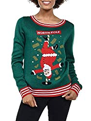 Hilarious Ugly Christmas Sweater Ideas Hilarious North Pole Dancer Ugly Christmas Sweater