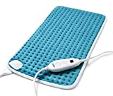 Heating Pad for Back Pain and Cramps Relief, Sable 12'x24' Large Electric Hot Heated Pad, Auto Shut Off, 6 Heating Settings, Moist & Dry Heat Therapy for Shoulder Neck Arm Leg Knee