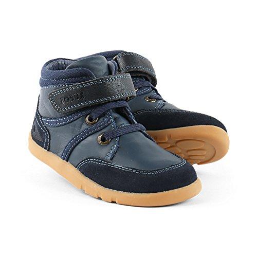 Bobux - Zapatos de cordones de Piel para niño azul azul, color azul, talla 36 EU Niño