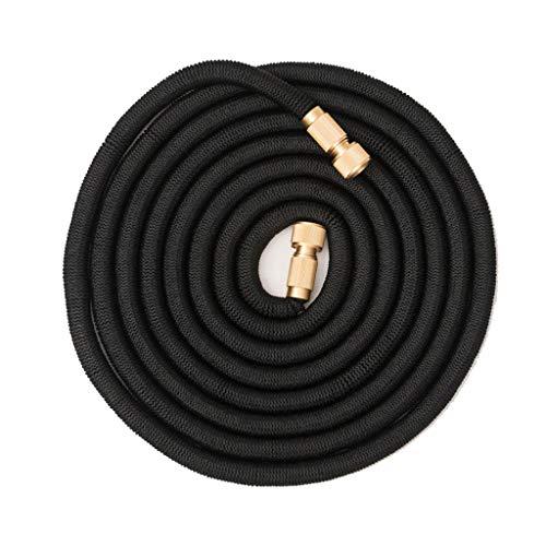 HSKB Tubo da giardino, tubo per acqua Magic estensibile Original Premium flessibile tubo estensibile magico per irrigazione giardino auto lavaggio & pulizia animali domestici