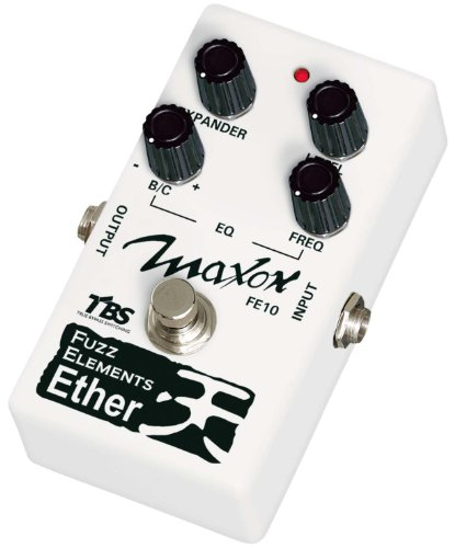 Maxon Compact Series FE10 Fuzz Elements Ether Bass Distortion Effects Pedal