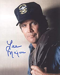 "LEE MAJORS as Colt Seavers - The Fall Guy 8""x10"" GENUINE AUTOGRAPH"