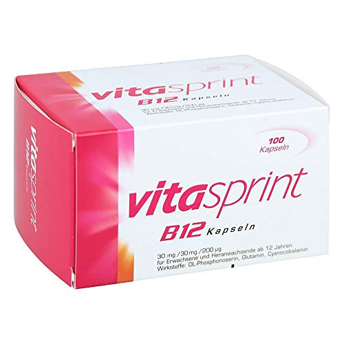 VITASPRINT B12 Kapseln 100 St