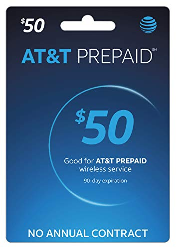 $35 AT&T Prepaid GoPhone Refill Card PIN (Mail Delivery)