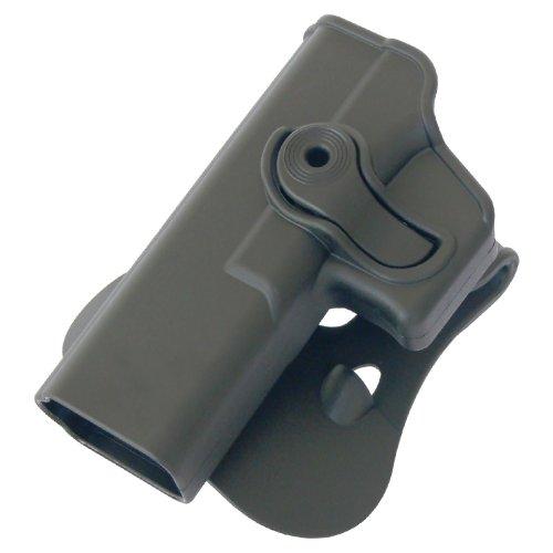 Pistole Handpistole Polymer Retention Holster für Glock 17/22/31 Linkshänder schwarz IMI RSR Defense Pistole Holster