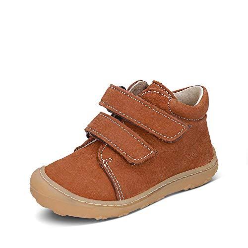 RICOSTA Pepino by Mixte Enfant Bottes & Boots Chrisy, Bottes pour Enfants, Fille,Garcon Bottes,Bottes à Velcro,Cuir,Curry,20 EU / 4 UK