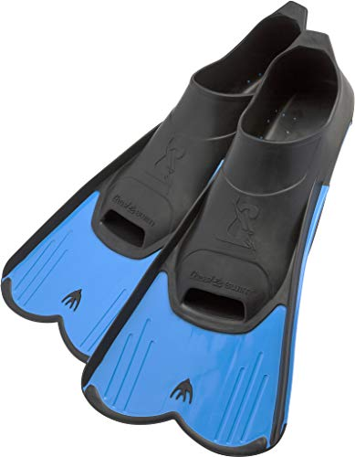Cressi Light - Aletas de natación, color azul, talla 37-38