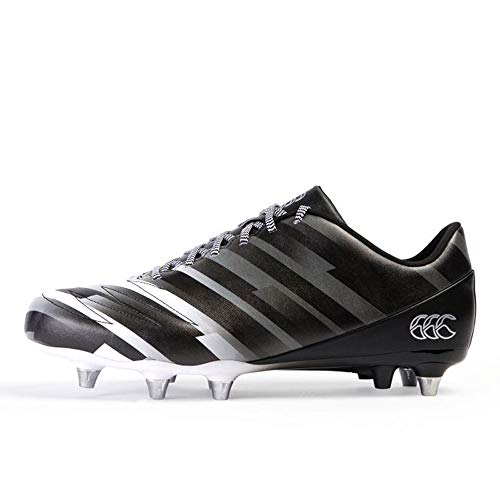 Canterbury of New Zealand Unisex-Erwachsene Stampede 2.0 Soft Ground Rugbyschuhe, Schwarz (Black Adult Unisex), 51 EU