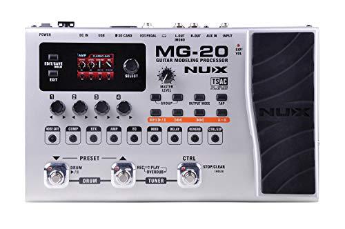 NUX | Efecto Guitarra Modelado | Guitarra Multi FX Pedal