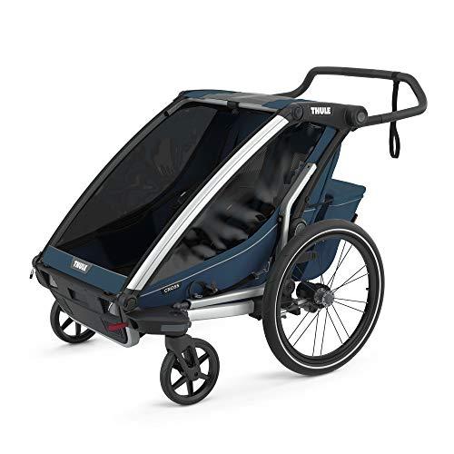 Thule Chariot Cross 2 Majolica Blue Fahrradanhänger Kinderanhänger 2021