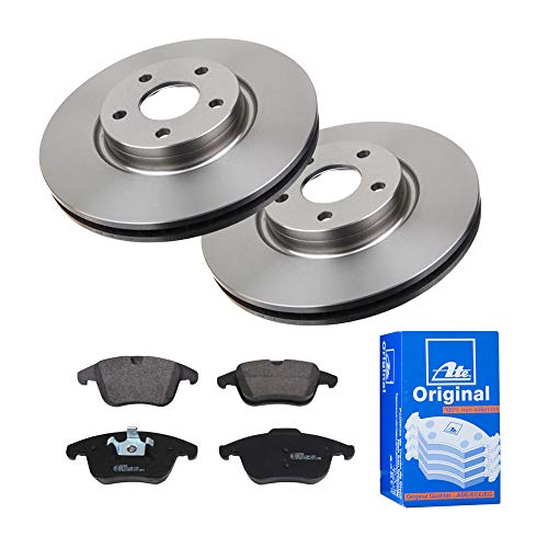 2 Bremsscheiben Ø300 Belüftet und Bremsbeläge ATE Vorne P-A-01-00804 Bremsanlage