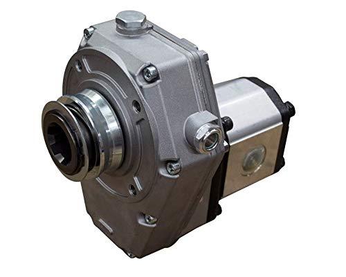Caja de cambios hidráulica PTO y conjunto de bomba grupo 2, 4 cc, 8,21 L/min, 4,51 kW