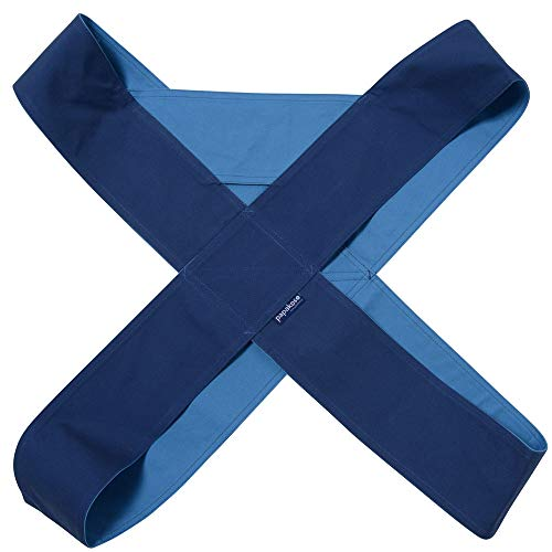 papakoso(パパコソ) クロス式 簡易 抱っこひも パパダッコ papa-dakko XL ネイビー×ブルー