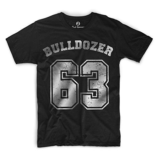 Bud Spencer - Bulldozer 63 - T-Shirt (L) , Farbe - Schwarz