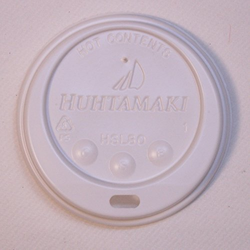 Vented Lids for 8oz 236ml Vending Cups [Pack 100]