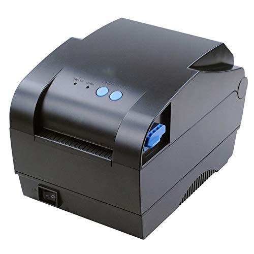 QIA 80 mm High Speed Printing Thermo-Belegdrucker, USB-Anschluss automatische Kalibrierung Barcode-Drucker für Supermarkt Retail Store Küche