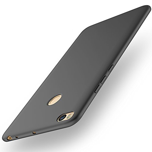 Black Ultra Thin Case Cover + Protective Film For Xiaomi Mi Max 2 (Not compatible with Mi Max) Vooway® MS70397